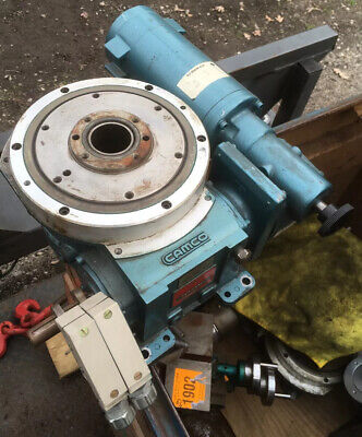 Camco 4 Stop Rotary Indexer Table 601rdm4h24-330 301 Ecm 90vdc Automation Tool
