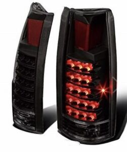 LED's smoked tail lights for Chevy/GMC trucks