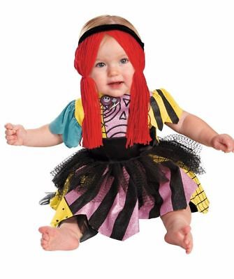Disney Infant Girls Nightmare before Christmas Sally Costume Sally Sz 6mo - 18mo - Nightmare Before Christmas Infant Halloween Costumes