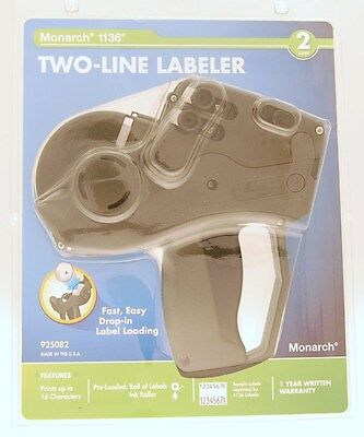 Monarch 1136 Two-line Labeler Price Gun 925082