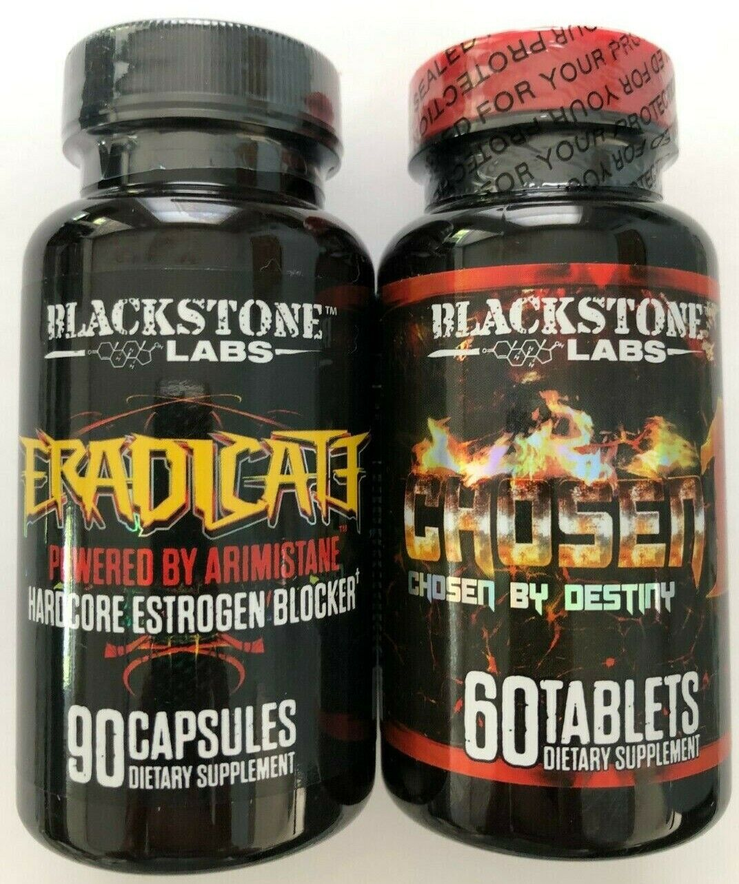 Blackstone Labs Lean Mass Gainer STACK Eradicate & Chosen 1