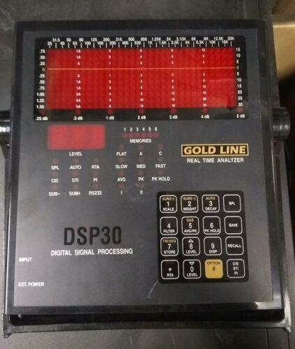 Goldline DSP30 Digital Signal Processor 30-Band Portable Audio Analyzer
