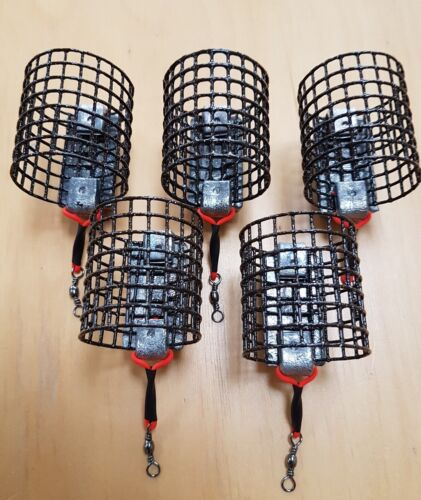 10off 4oz Handmade Heavy Quality Metal cage feeders River Trent Barbel New
