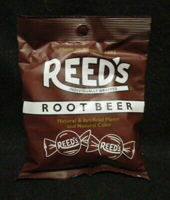REEDS Old Fashioned Root Beer Hard Candy- Individually Wrapped - Old Fashioned Root Beer