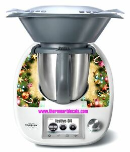 thermomix tm5 sticker decal code festive 04 ebay. Black Bedroom Furniture Sets. Home Design Ideas