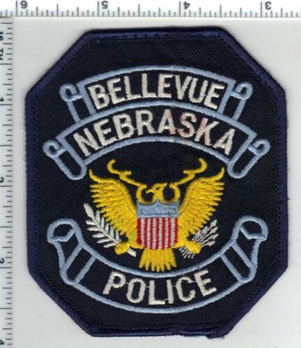 Bellevue Police (Nebraska) Uniform Take-Off Shoulder Patch from the 1980