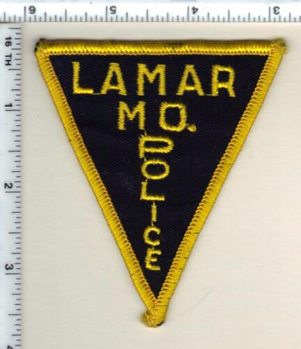 Lamar Police (Missouri) Shoulder Patch from 1993