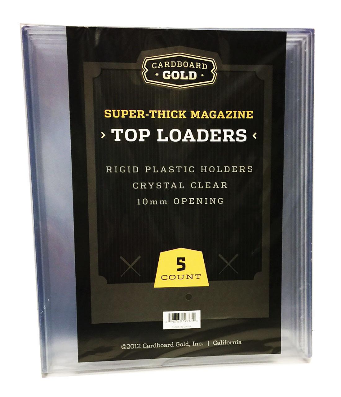 Rigid Plastic Sleeves Newspaper Topload Holders 10 BCW Brand