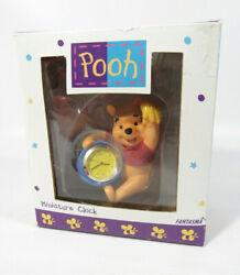 Fantasma Walt Disney Winnie The Pooh W Honey Pot Miniature Desk Clock