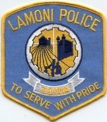 LAMONI IOWA IA To Serve With Pride POLICE PATCH