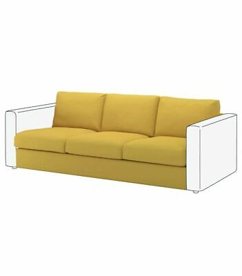 NEW Ikea VIMLE cover for 3-seat section Orrsta Golden Yellow 603.510.71