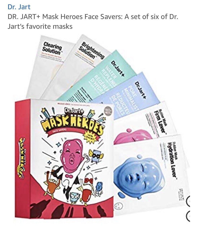DR. JART+ Mask Heroes Face Savers: A set of six of Dr. Jarts