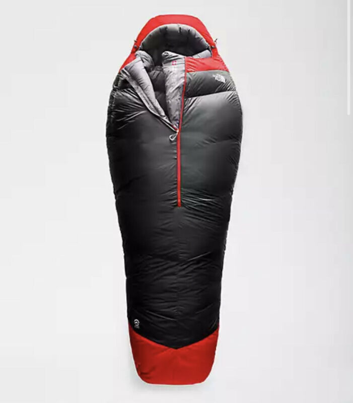The North Face Inferno -40F Down Sleeping Bag Factory Sealed Brand New in Box