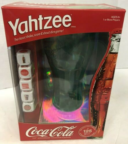 2010 COCA-COLA YAHTZEE GAME NEW IN BOX FREE SHIPPING!