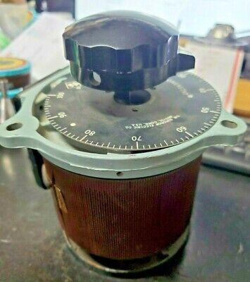 Powerstat Type 116u Variac 7.5a Variable Transformer Superior Electric Company
