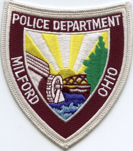 MILFORD OHIO OH POLICE PATCH