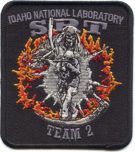 IDAHO ID NATIONAL LAB DEPARTMENT OF ENERGY DOE Special SRT SWAT POLICE PATCH