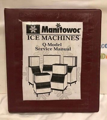 Manitowoc Ice Machines Q-model Service Manual Used
