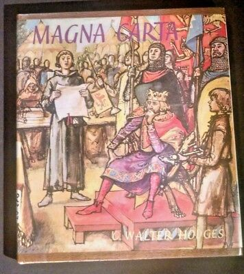 Magna Carta by C. Walter Hodges 1966 for sale  Shipping to India