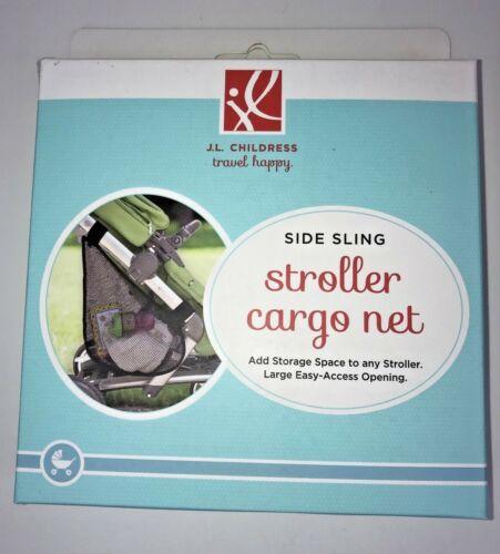 JL Childress Stroller Mesh Cargo Net Side Sling Black NIP