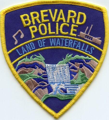 BREVARD NORTH CAROLINA NC Land of Waterfalls POLICE PATCH