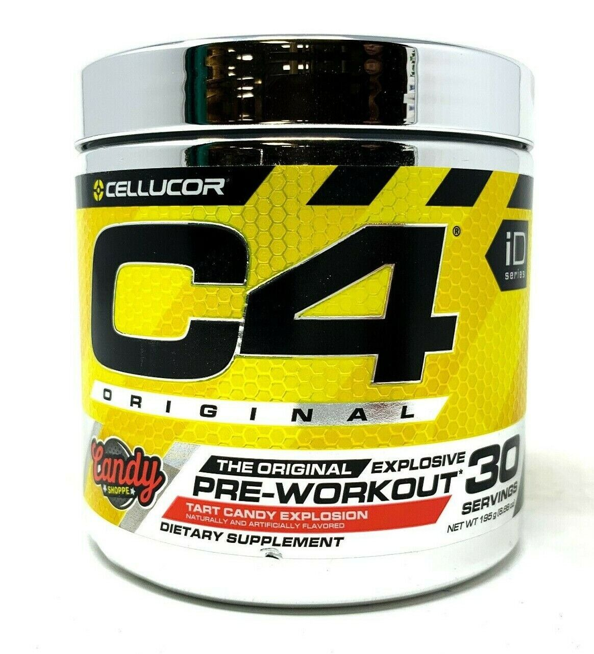 CELLUCOR C4 Original iD Series Explosive Pre-Workout Powder 30 Servings EXP.9/20