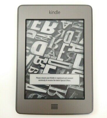 Amazon Kindle Touch 4th Generation  |  Model D01200  |  Wi-Fi + 3G  |  TESTED