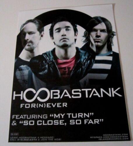 Hoobastank Promo Display / Sticker glass window door