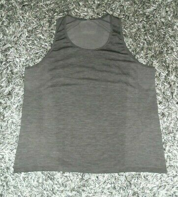 Lululemon Men's XXL/2XL Metal Vent Tech Black Sleeveless Tank