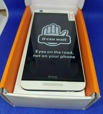 In Box HTC Desire 626 - 16GB - Marine White (AT&T) Unlocked Smartphone Fair cond