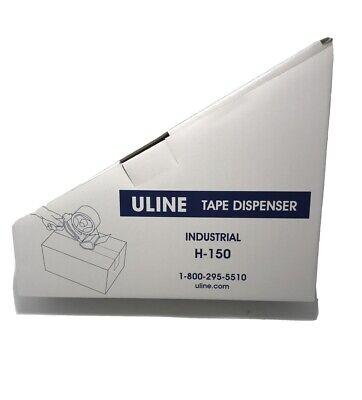 Uline Hand Held Tape Gun Industrial Dispenser H-150 New In Box 2 Tape