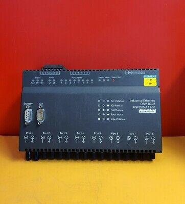 SIEMENS OSM BC08 6GK1105-4AA00  6GK1 105-4AA00 INDUSTRIAL ETHERNET PLC