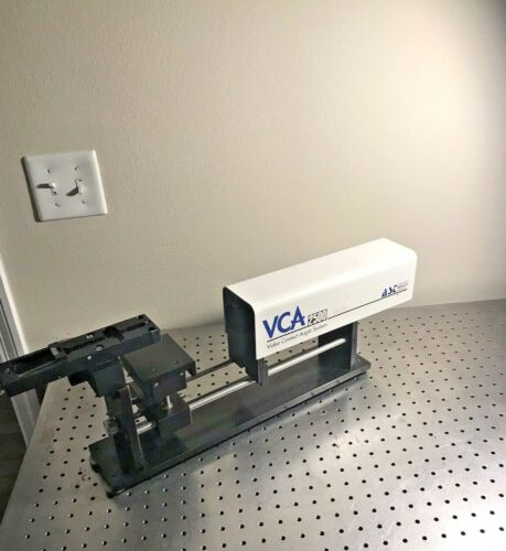 AST VCA Video Contact Angle System 2500