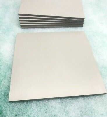 Silicone Rubber Sheet Solid 14 Thk X 8 X 8 Sq Pad Us Mil-spec 60 D Gray