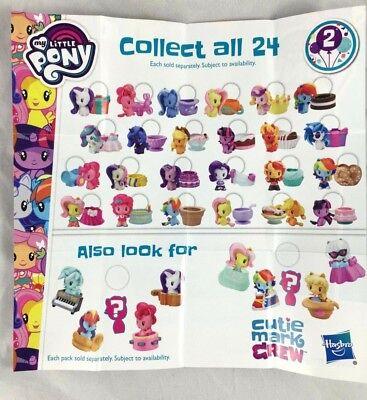 My Little Pony Cutie Mark Crew Series 2 Figure Trixie Lulamoon Pinkie Pie UPICK! (Little Pinkie)