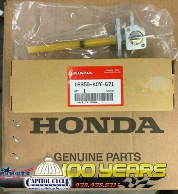 16950-KCY-671 New OEM Honda 1996-2004 XR400R Fuel Petcock