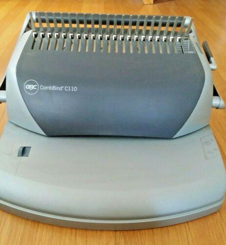 GBC C110 CombBind machine - hardly used