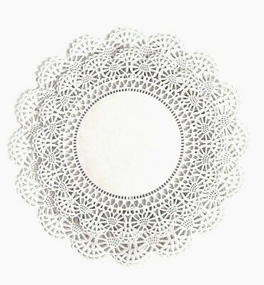 Variety Pack 100 ct. Round Paper Lace Doilies 8 inch & 10 inch - 50 of Each](Lace Paper Doilies)