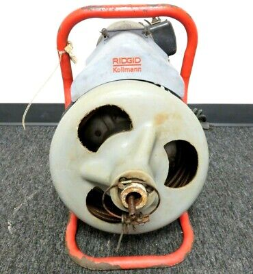 Ridgid K-375 Powered Drain Cleaning Drum Machine
