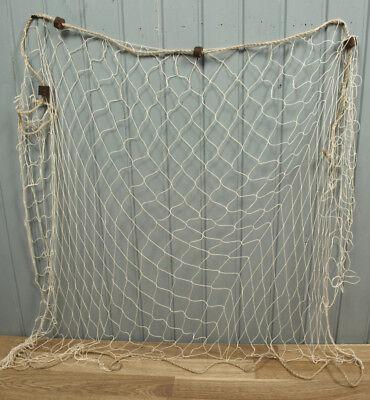Deko Fischernetz beige ca. 1,5 x1m beige mit 4 Schwimmern maritime Dekoration