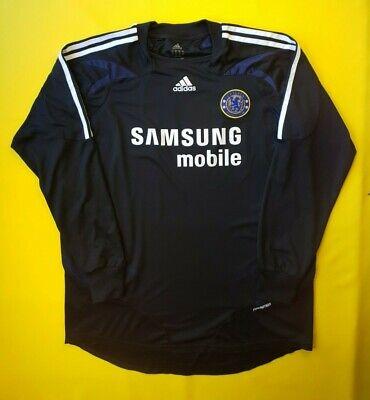 d7e97806b 4 5 Chelsea jersey formotion XL 2006 2008 goalkeeper shirt Adidas soccer  ig93