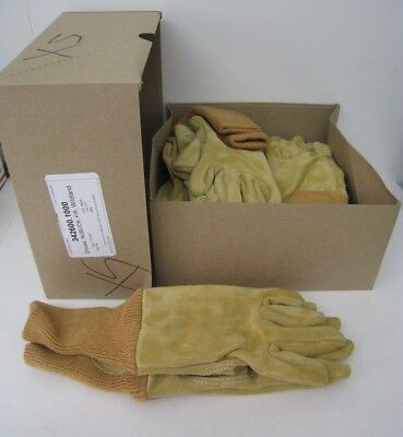 6 X-small Wildland Firefighter Gloves Nubuck Leather Firefighting Protection