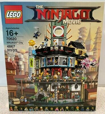 LEGO 70620 NINJAGO City NEW Unopened in Sealed Box NIB
