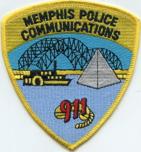 MEMPHIS TENNESSEE TN 9-1-1 Dispatcher COMMUNICATIONS POLICE PATCH