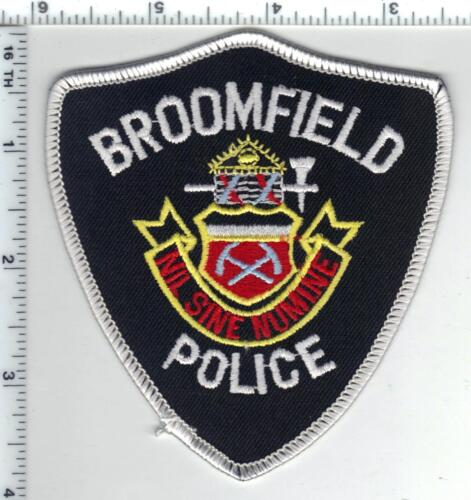 Broomfield Police (Colorado) Shoulder Patch from the 1980s