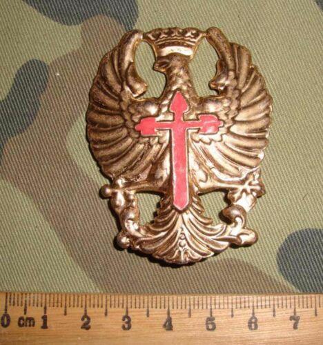 WW2 Spanish Helmet Badge Cockade