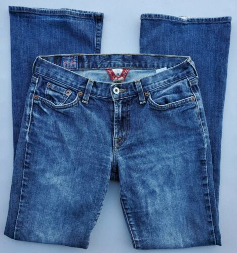 Women s LUCKY BRAND Sweet N Low Tag 4/27 29.5x30 Made In USA - Medium Wash - $12.95
