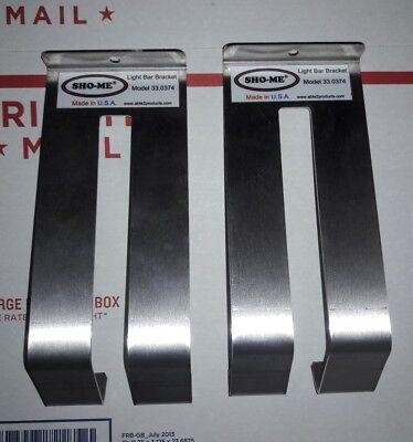New Sho-me Lightbar Bracketstraps Model 33.0374