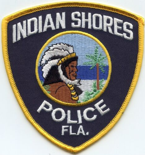 INDIAN SHORES FLORIDA FL POLICE PATCH