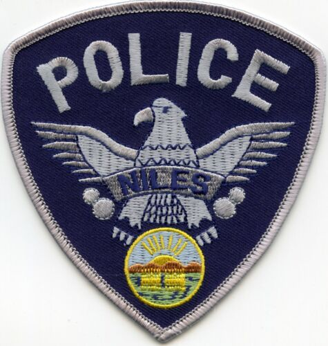 NILES OHIO OH POLICE PATCH